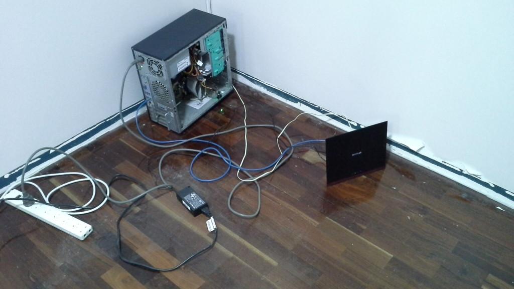 Server and Modem