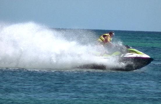 Ben on the Jet Ski