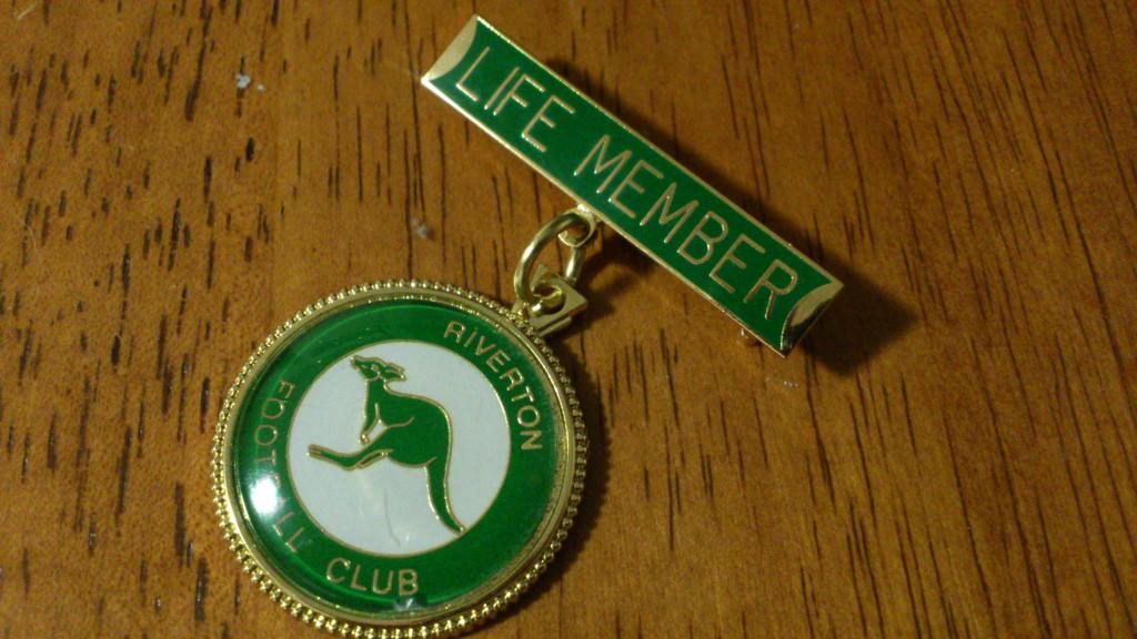 Riverton Football Club Life Member