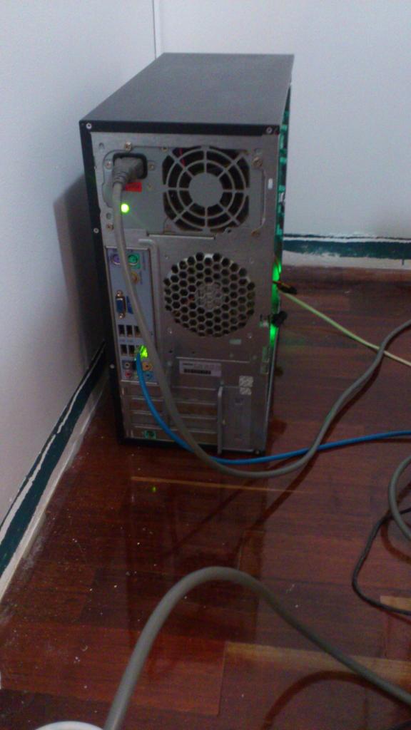 Home server back