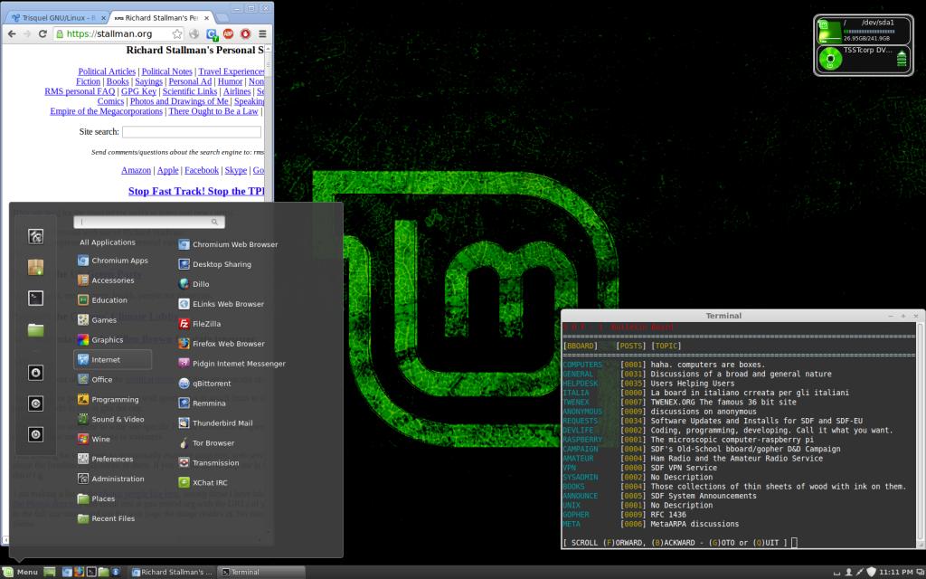 Computer screenshot of desktop