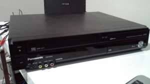 VCR front view